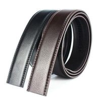 Luxury-Mens-Leather-Automatic-Ribbon-Waist-Strap-Belt